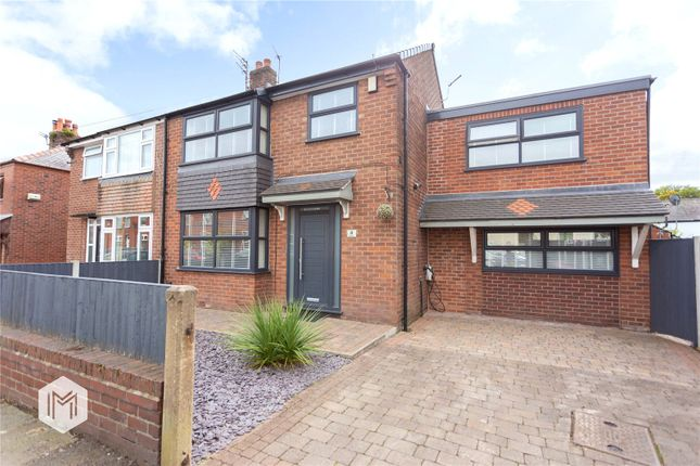 Thumbnail Semi-detached house for sale in Poplar Road, Swinton, Manchester, Greater Manchester