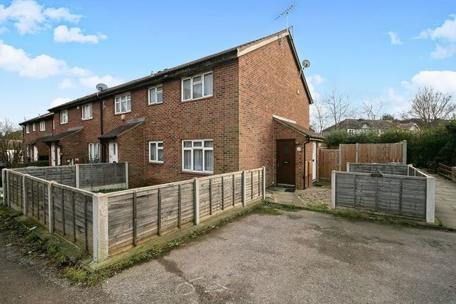 Thumbnail End terrace house for sale in Nicholas Close, Greenford