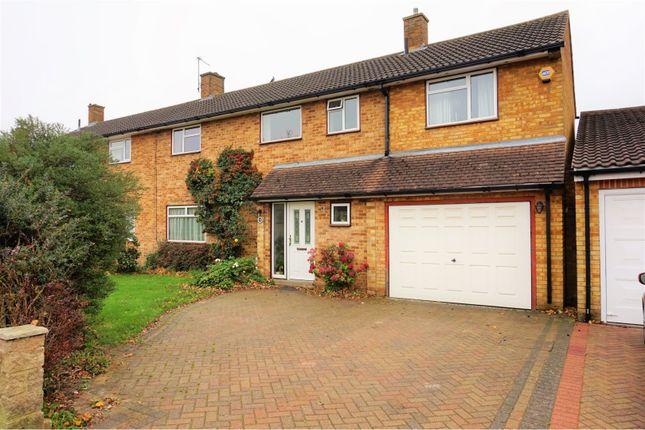Thumbnail Semi-detached house for sale in Ellingham Road, Hemel Hempstead