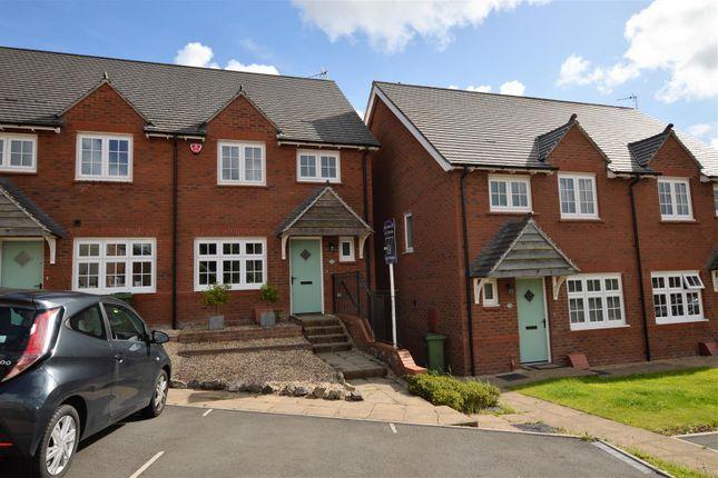 Thumbnail End terrace house for sale in Ffordd Dol Y Coed, Llanharan, Pontyclun