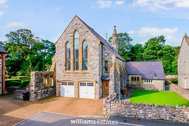Thumbnail Detached house for sale in St. Davids Close, Pantasaph, Holywell