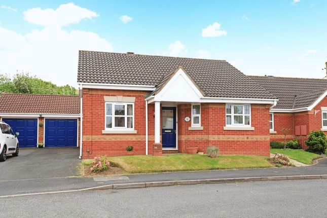 Thumbnail Detached bungalow for sale in Ivy House Paddocks, Ketley, Telford