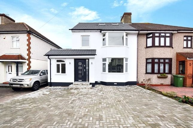 Thumbnail Semi-detached house for sale in Fairlawn Avenue, Bexleyheath, Kent