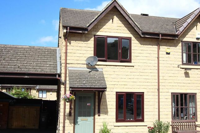 Thumbnail 2 bed semi-detached house for sale in Sugden Close, Rastrick