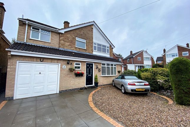 Thumbnail Detached house for sale in Fieldcourt Road, Groby, Leicester
