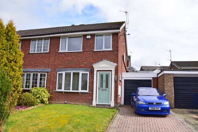 Semi-detached house for sale in Harington Drive, Parkhall, Stoke-On-Trent