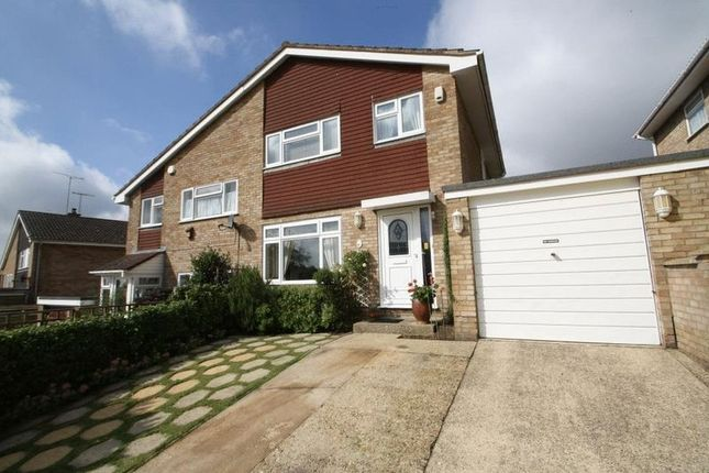 Thumbnail Semi Detached House For Sale In The Rise High Wycombe