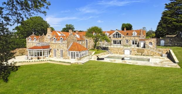 6 bed detached house for sale in Rue Des Vallees, Castel, Guernsey