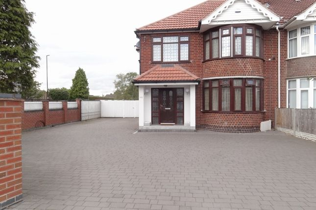 Thumbnail Semi-detached house for sale in Leamington Road, Styvechale, Coventry