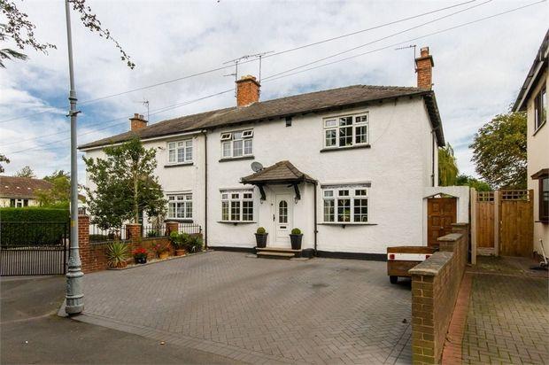 Thumbnail Semi-detached house for sale in The Avenue, Fallings Park, Wolverhampton, West Midlands