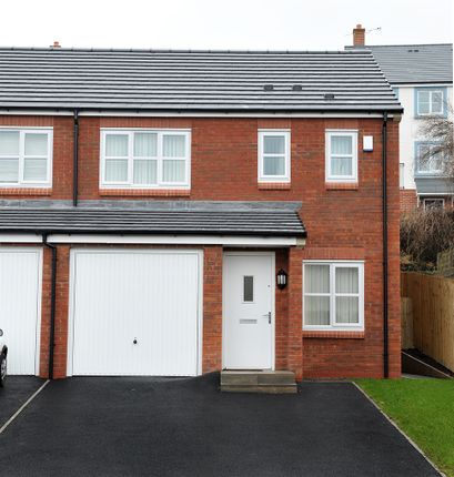 """Thumbnail Semi-detached house for sale in """"The Rufford"""" at Brookwood Way, Buckshaw Village, Chorley"""