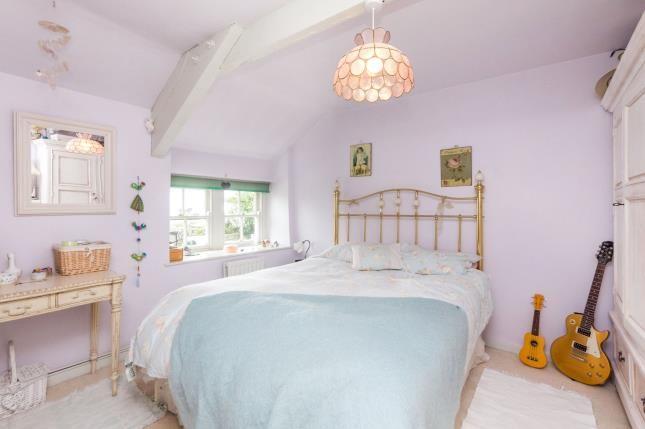 Bedroom of Muriau, Criccieth, Gwynedd LL52