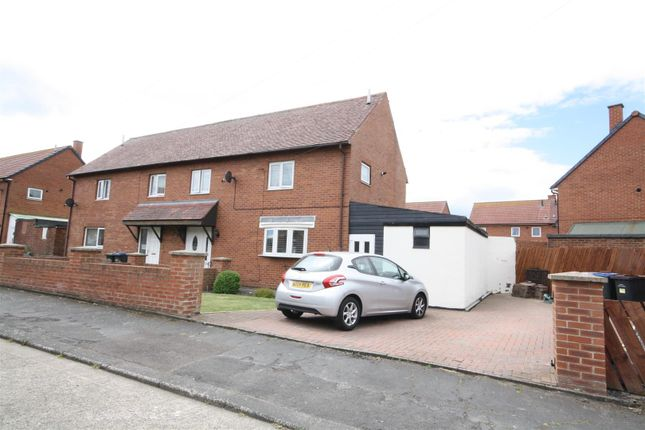 Thumbnail Semi-detached house for sale in Boyntons, Nettlesworth, Chester Le Street