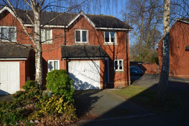 Thumbnail End terrace house to rent in Lewis Crescent, Exeter