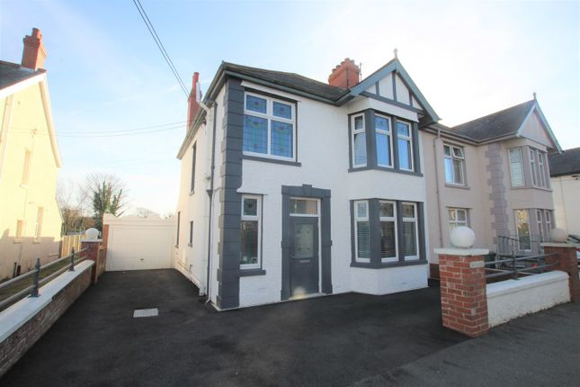 Thumbnail Semi-detached house for sale in Aberystwyth Road, Cardigan