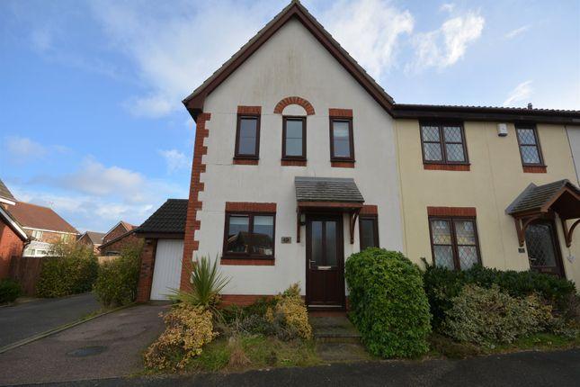 3 bed end terrace house for sale in Harrop Dale, Carlton Colville, Lowestoft
