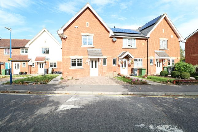 Thumbnail 3 bed end terrace house to rent in Stagshaw Close, Maidstone