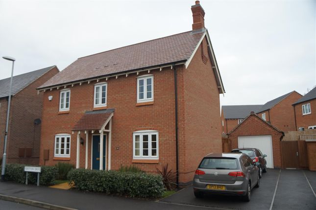 Thumbnail Detached house for sale in Gretton Drive, Anstey, Leicester