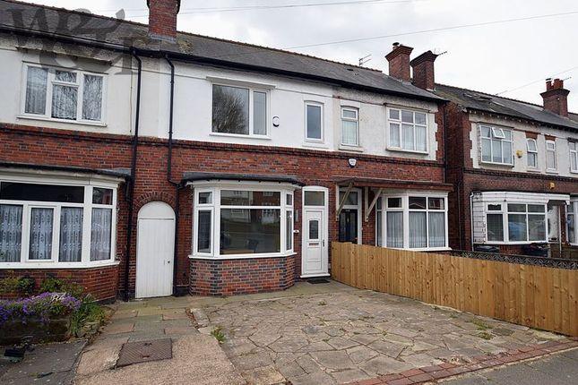 Thumbnail Terraced house for sale in Short Heath Road, Erdington, Birmingham