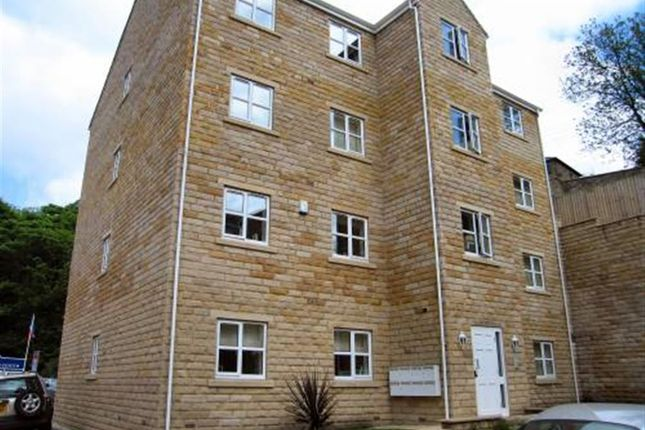 Thumbnail Flat to rent in Branwell Court, Mill Stream Drive, Luddenden Foot, Halifax