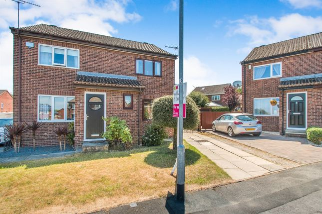 Thumbnail Semi-detached house for sale in Middlecroft Close, Leeds