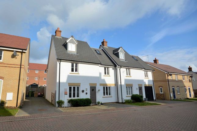 Thumbnail Detached house for sale in Cyprus Way, Newton Leys, Bletchley, Milton Keynes