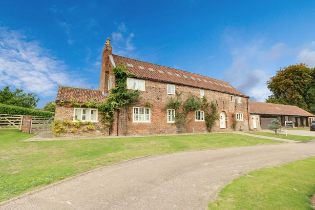 Thumbnail Property for sale in West Cote Farm, Wold Road, Barrow-Upon-Humber, Lincolnshire