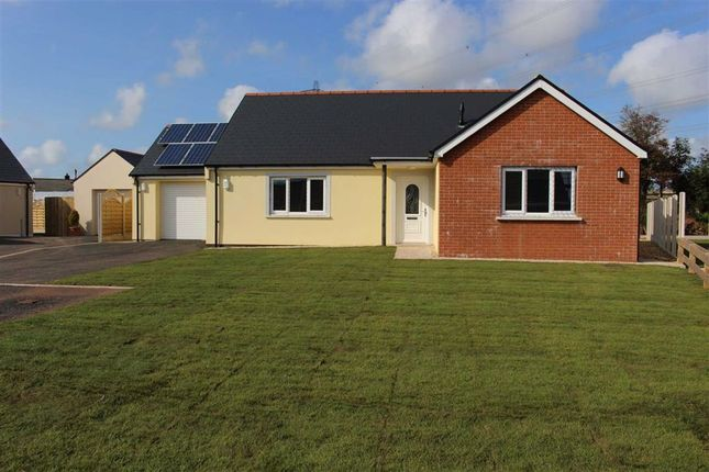 3 bed detached bungalow for sale in Bowett Close, Hundleton, Pembroke SA71