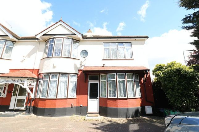 Thumbnail Semi-detached house to rent in Aldersbrook Road, London
