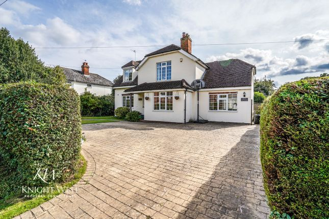 Thumbnail Detached house for sale in Rectory Road Copford, Colchester