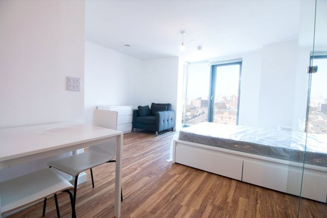 Studio to rent in The Tower, 19 Plaza Boulevard, Liverpool L8