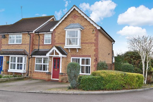 Thumbnail Semi-detached house for sale in Burley Hill, Newhall, Harlow