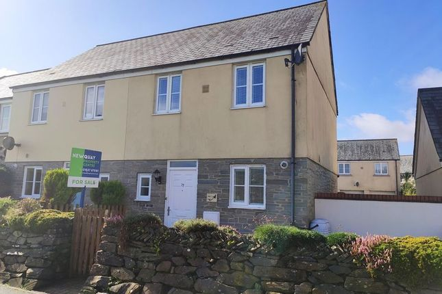 Thumbnail Semi-detached house to rent in The Hurlings, St. Columb
