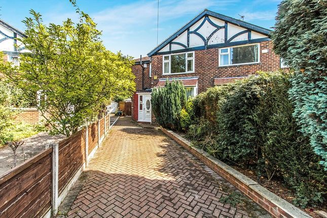 Thumbnail Semi-detached house for sale in Blackthorn Avenue, Burnage, Manchester