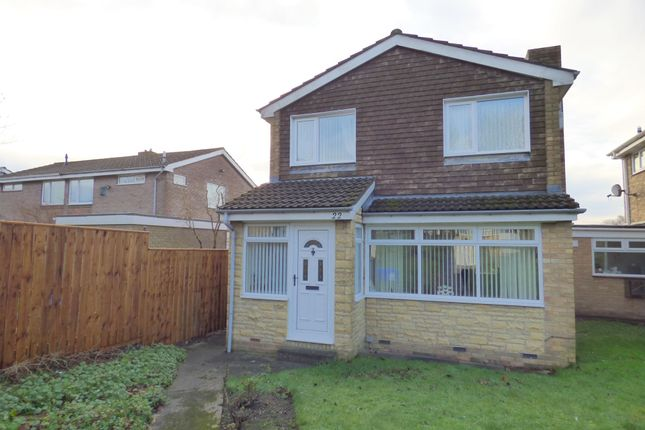 Thumbnail Detached house for sale in Wishaw Close, Cramlington