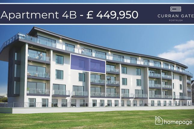 Thumbnail Property for sale in Level 4, Type J, Curran Gate, Portrush
