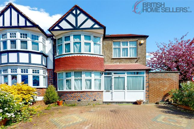 Thumbnail Terraced house for sale in South Norwood Hill, London