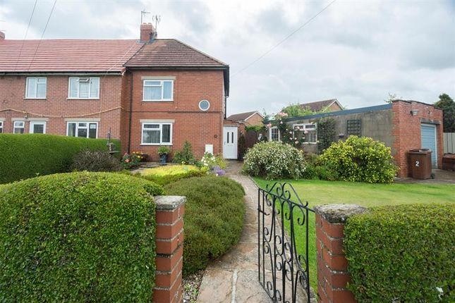 Thumbnail End terrace house for sale in Ingsgarth, Pickering