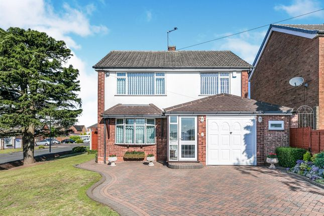Thumbnail Detached house for sale in Peveril Way, Great Barr, Birmingham