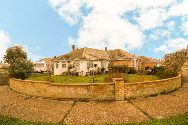 Thumbnail Semi-detached bungalow for sale in Innings Drive, Pevensey Bay, Pevensey