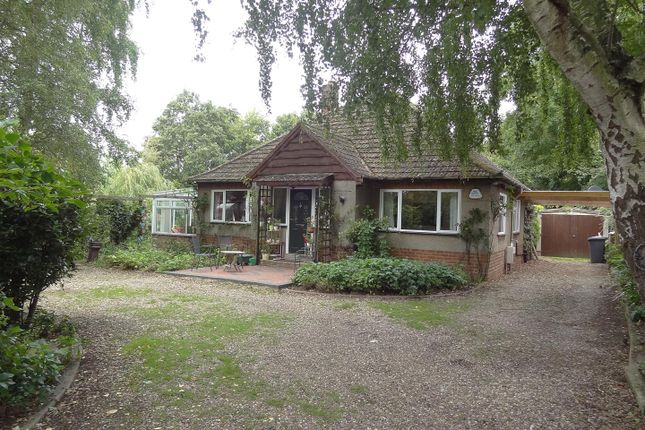 Thumbnail Detached bungalow for sale in Manor Street, Ruskington, Sleaford