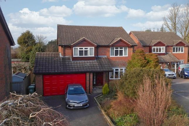 Thumbnail Detached house for sale in Blaizefield Close, Woore, Cheshire