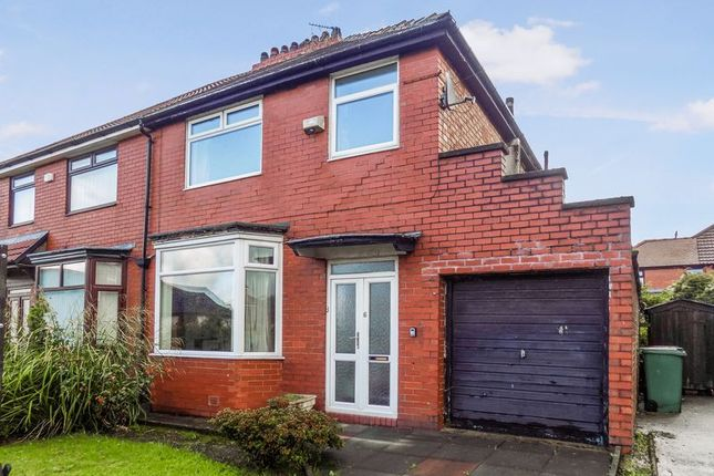 Thumbnail Semi-detached house for sale in Westholme Road, Prestwich, Manchester