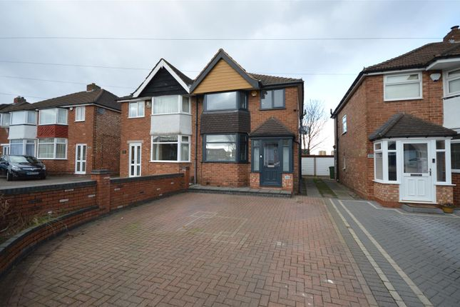 Thumbnail Semi-detached house for sale in Cooks Lane, Kingshurst, Birmingham