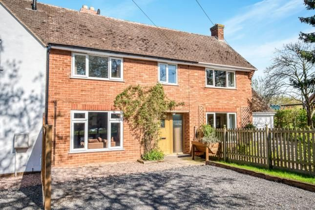 Thumbnail Terraced house for sale in Radford Road, Rous Lench, Evesham, Worcestershire