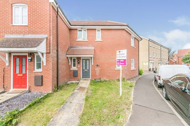 Thumbnail Semi-detached house for sale in Avitus Way, Highwoods, Colchester