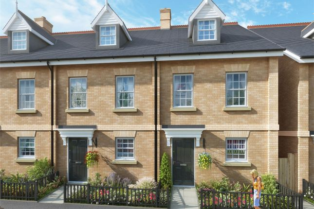 Thumbnail Terraced house for sale in Locksley Place, Chase Farm, Lavender Hill, Enfield, Greater London