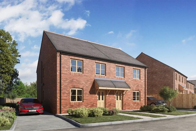 Thumbnail Semi-detached house for sale in The Newby (Plots 1 & 2), Sleights Lane, Rainton