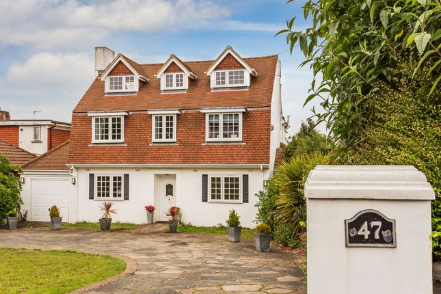 Thumbnail Detached house for sale in Ruden Way, Epsom Downs, Surrey
