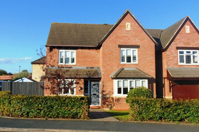 Thumbnail Detached house for sale in Stephenson Way, Honeybourne